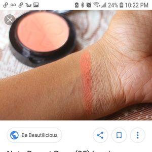 note Makeup - Note Silk luminous compact Blusher in Desert rose